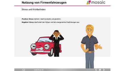 Ein Bild aus dem Firmenfahrzeugkurs