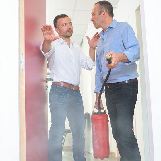 Zusatzmodul Brandschutz